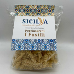 Perciasacchi durum wheat pasta Fusilli Siciliani 400g