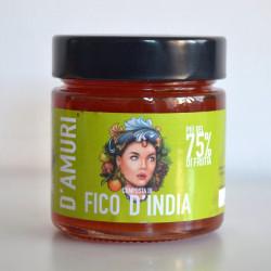 "Prickly Pear Gourmet Jam ""Women Orlando Company"" 100gr"