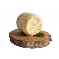 """Semi-aged gourmet cheese with Thyme From """"Marettimo"""""""