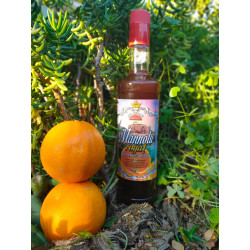 MANNOLU ROYAL liqueur Bitter with Manna and orange of Sicily bott. 70 cl