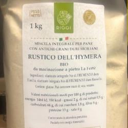 Rustico Hymera Bio - Farina mix di Grani Antichi Sicliani - Molini Riggi - 1Kg