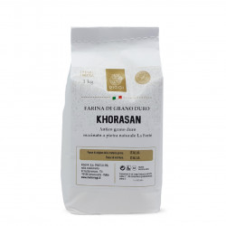 Flour from Ancient Sicilian Grains - Korhasan of Sicilia Bio 1Kg - Molini Riggi