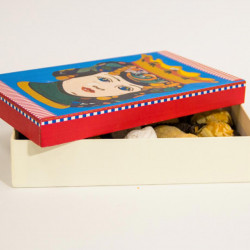 Pasticcini di mandorla scatola siciliana 200gr Pasticceria Palazzolo