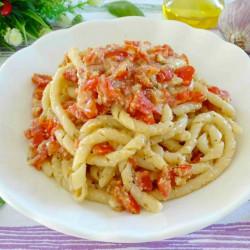 Busiate con Pesto alla Trapanese