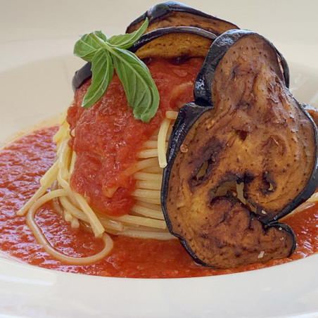 Pasta con le Melanzane alla Siciliana