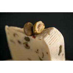 Formaggio Primo Sale Siciliano con olive 500gr