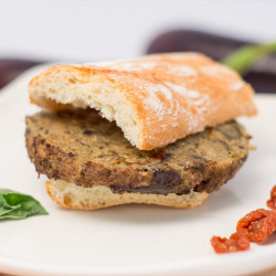 100gr Burger di Melanzane/Eggplant burger  (gluten-free / without...
