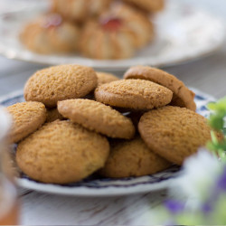 Wholemeal biscuits gluten free 220gr