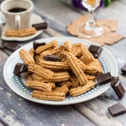 220g Biscotti con scaglie di cioccolato senza glutine Squisiti...