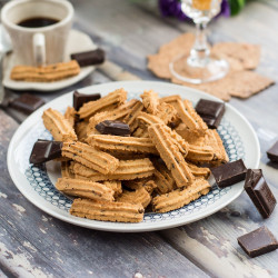 Biscuits with chocolate chips gluten free  220 gr