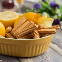 """220g Biscotti limone senza glutine """"Squisiti"""" Punto Caldo"""
