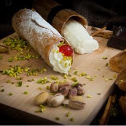 Cannolo Siciliano con Ricotta, senza glutine e surgelato confezione...