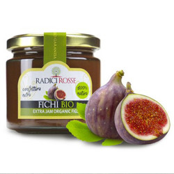 Figs Organic extra jam in jar of 240gr