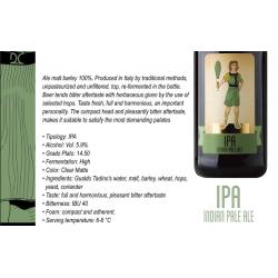Bottiglia da 50cl Birra Malto d'Orzo donna di coppe