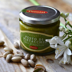 Pesto of Pistachio jar of 90g - 75% of Sicilian Pistachio