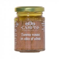 Tonno rosso in olio d'oliva 100gr