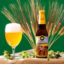 Birra Artiginale Irias Cincu ai 5 Grani bottiglia da 33cl