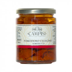 Cherry tomatoes semi-dry in oil 280gr