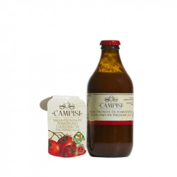 vendita on line 33cl Salsa ciliegino pomodoro IGP - pronta da mangiare