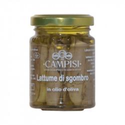 Lattume di Sgombro in olio d'oliva 100gr