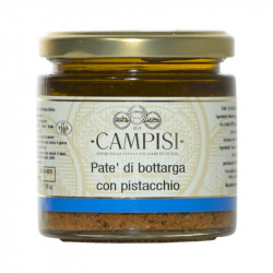 Patè di Bottarga con Pistacchio Patè of pistachio bottarga 220gr