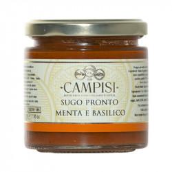 Sugo pronto menta e basilico con pomodori Pachino 220 gr