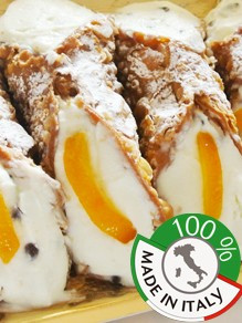 Buy handicraft products online such as Sicilian cannoli
