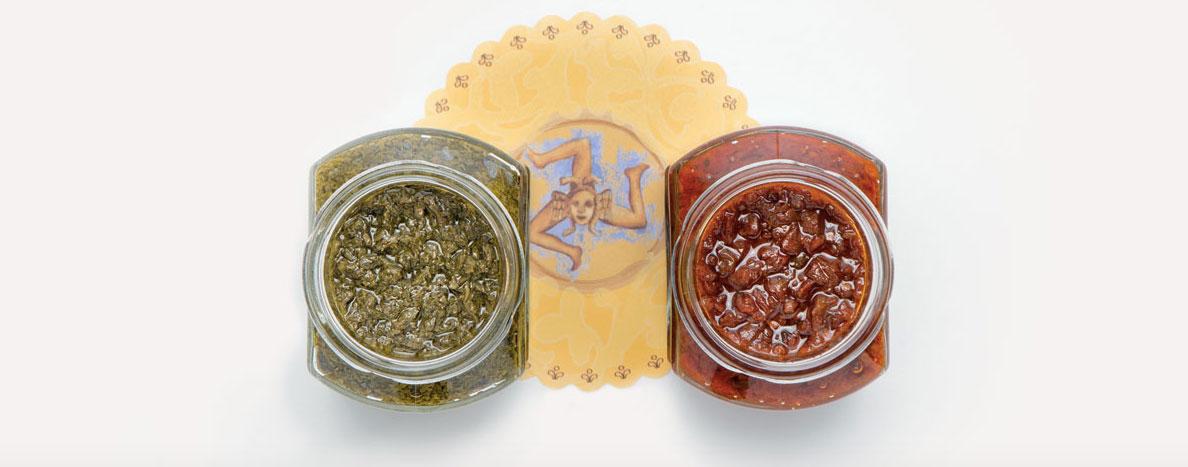 Vuoi Acquistare cibo siciliano come pesti, sughi e creme on-line del marchio Antica Sicilia?