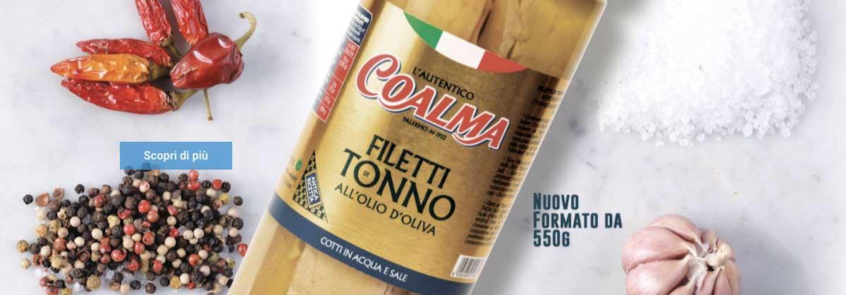 Vendita online tonno e sgombro Siciliano Coalma