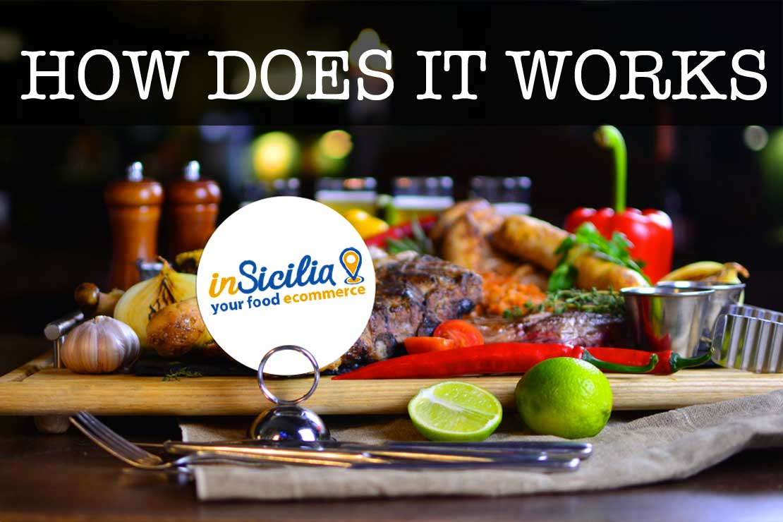 How does it works insicilia.com how to order and pqy italian sicilian food and wine