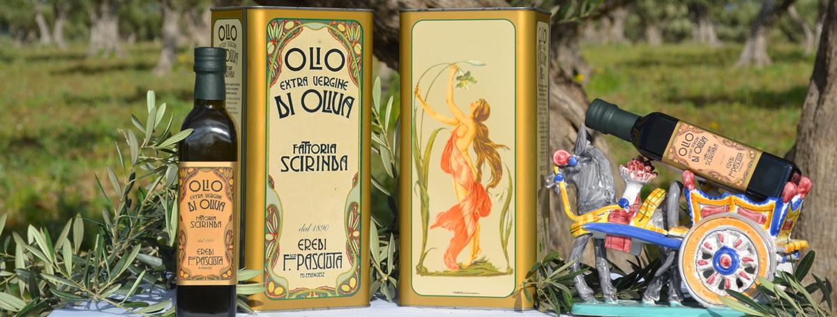 Olio di Oliva Fattoria Scirinda Sicilia