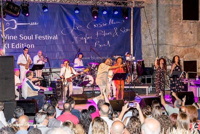 Joe Castellano al Blues and Wine Festival di Sicilia
