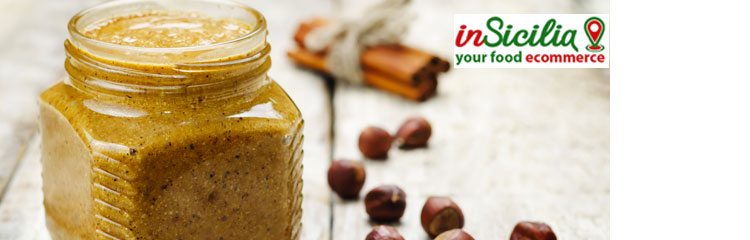 Vendita online creme spalmabili siciliane, pistacchio, mandorla, limone, nocciola, arancia