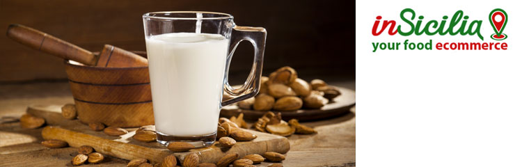Buy online Sicilian products such as almond milk
