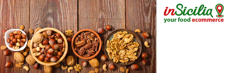 Acquistare online prodotti artigianali come la frutta secca siciliana