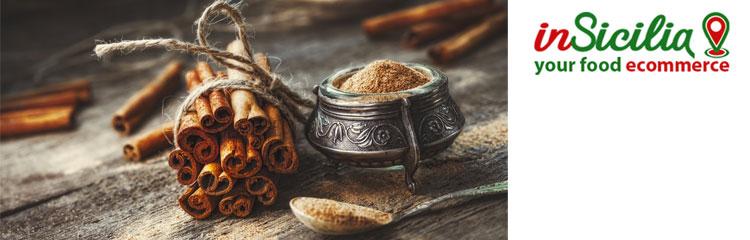 Vendita on line Cibo Tradizionale Siciliano - su insicilia.com vendita di cibo tradizionale siciliano ingrosso e dettaglio cannella