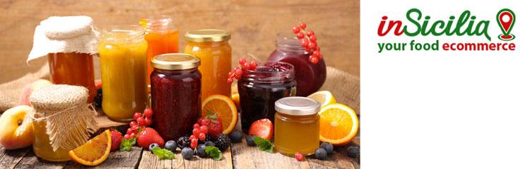 Acquistare online prodotti siciliani come le marmellate biologiche
