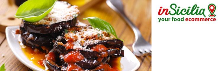 Vuoi Acquistare online prodotti artigianali come le melanzane siciliane? Su Insicilia vendita di crema di melanzane, caviale di melanzane, pesto di melanzane