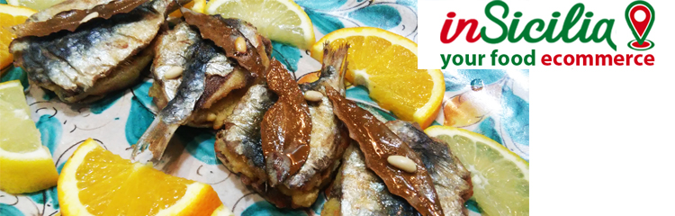 cibo tradizionale siciliano - traditional food of sicily - made in italy food